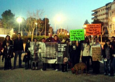 Protest gegen Zirkus